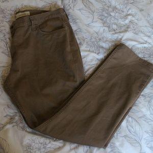 Vans slim fit chino pants